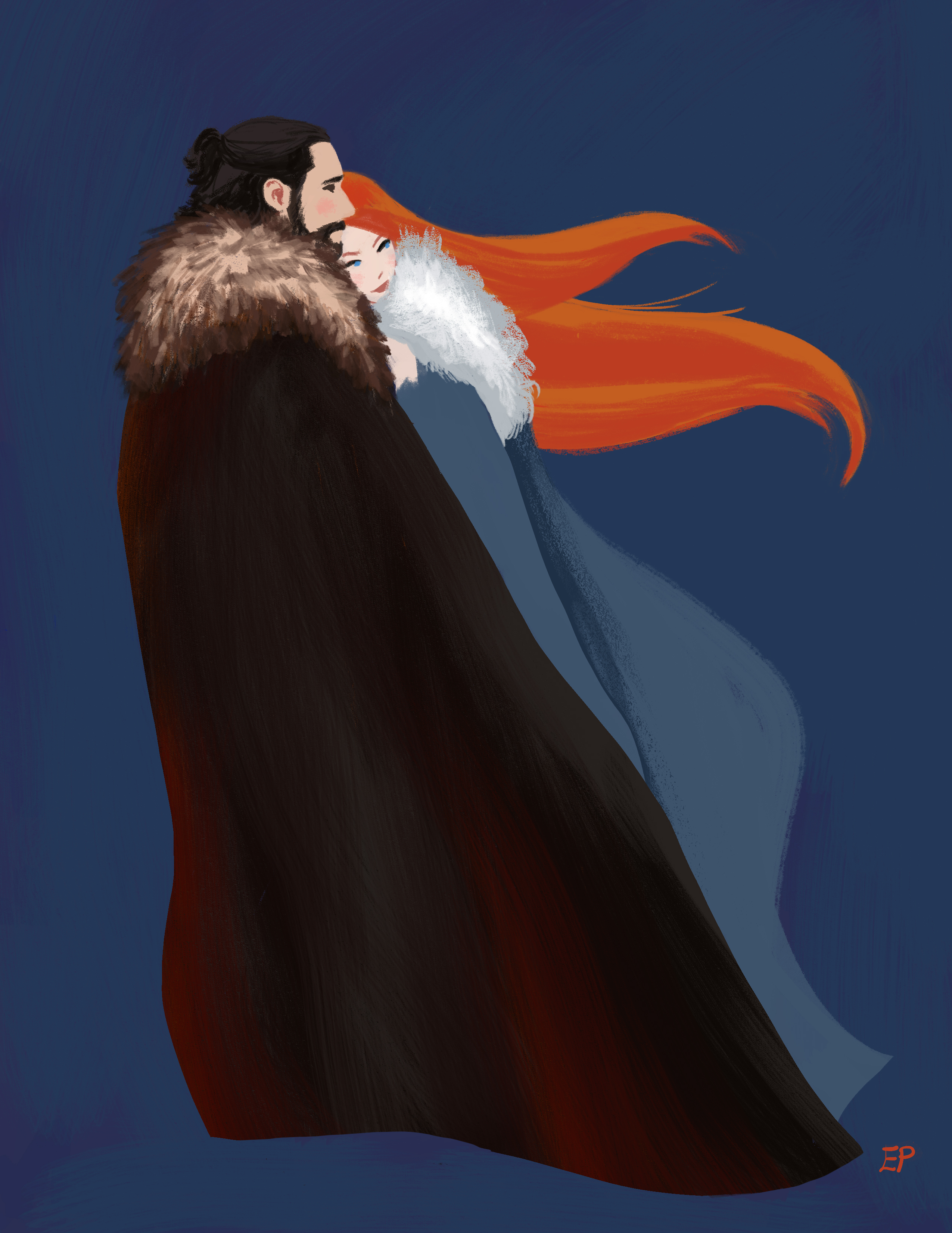 Jon and Sansa Blair v1b FLAT